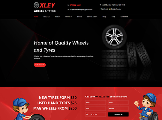 Oxley Wheels and Tyres